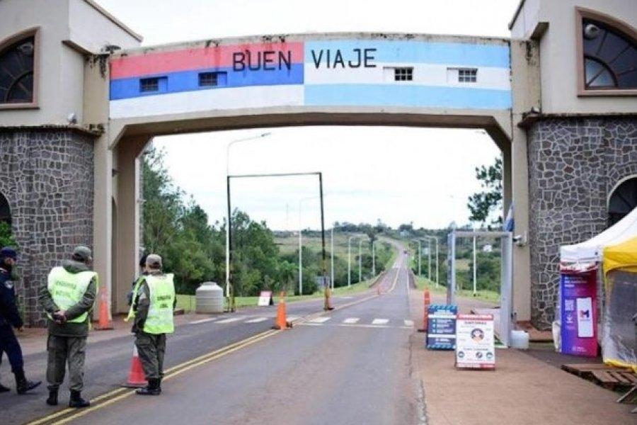 Misiones cerró los accesos desde Corrientes