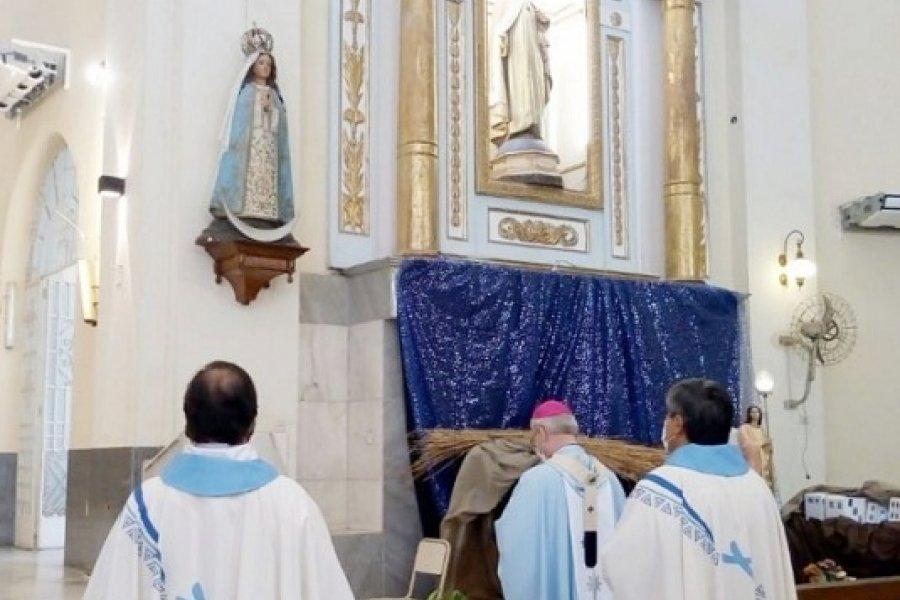 La Iglesia celebró el día de la Virgen y llamó a defender al no nacido