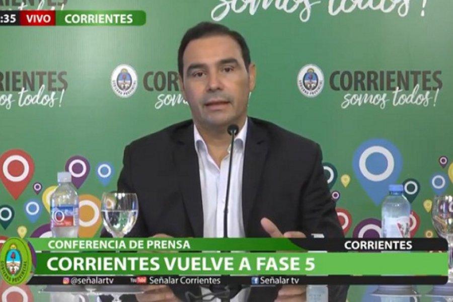 Covid en Corrientes: Capital y Paso de los Libres pasan a Fase 5