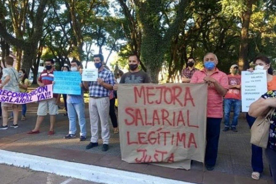 Judiciales mercedeños reclamaron al STJ por 35% de mejora salarial