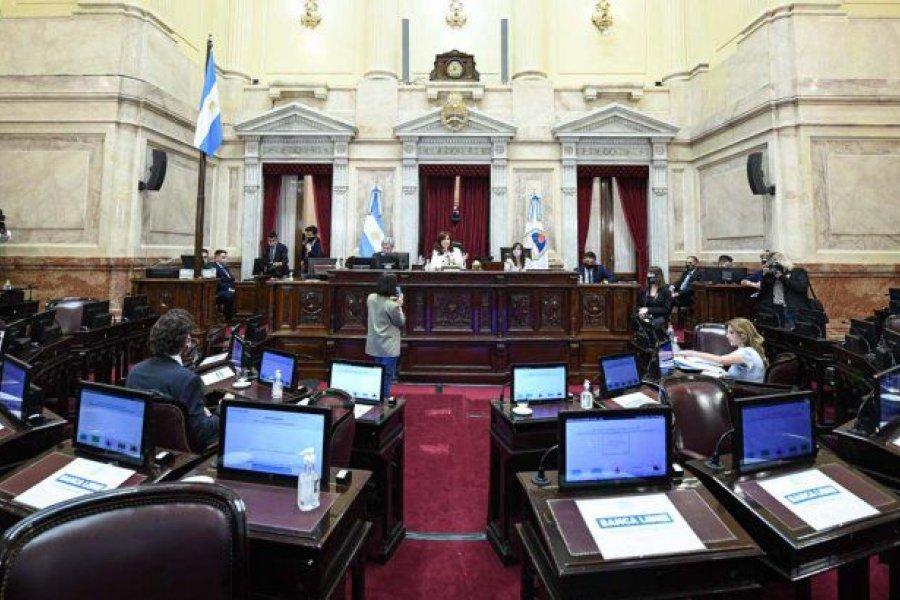 Senado aprobó la ley que transfiere la seguridad y recorta fondos a la Ciudad