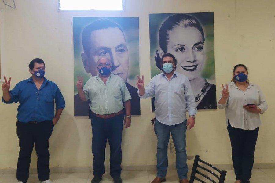 El candidato a Gobernador Daniel Caran visito UPCN