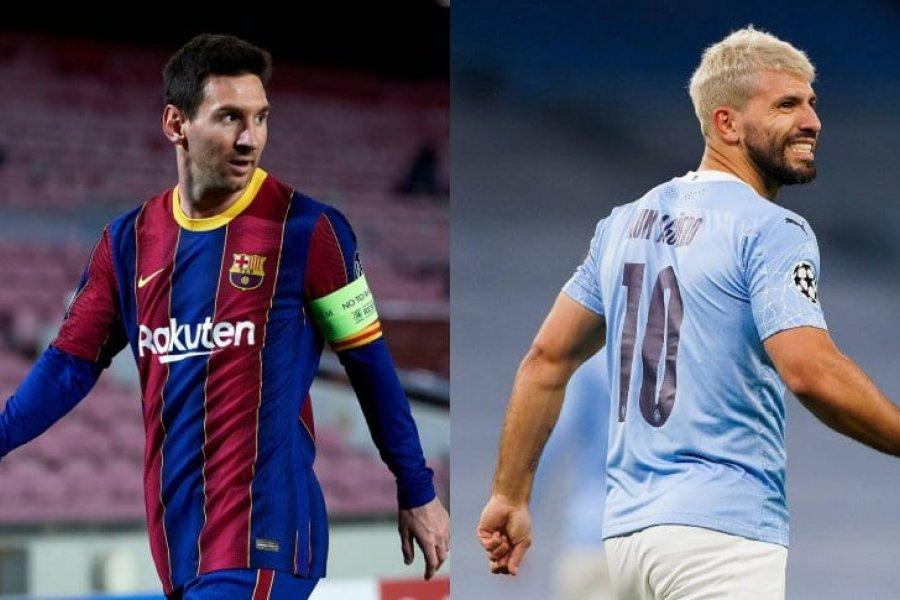 Messi y Agüero, los argentinos candidatos al once ideal de FIFA