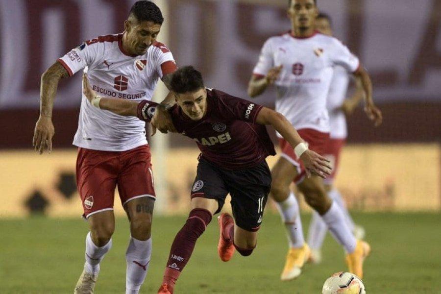 Independiente no pudo ante Lanús en el partido de ida por los cuartos de final