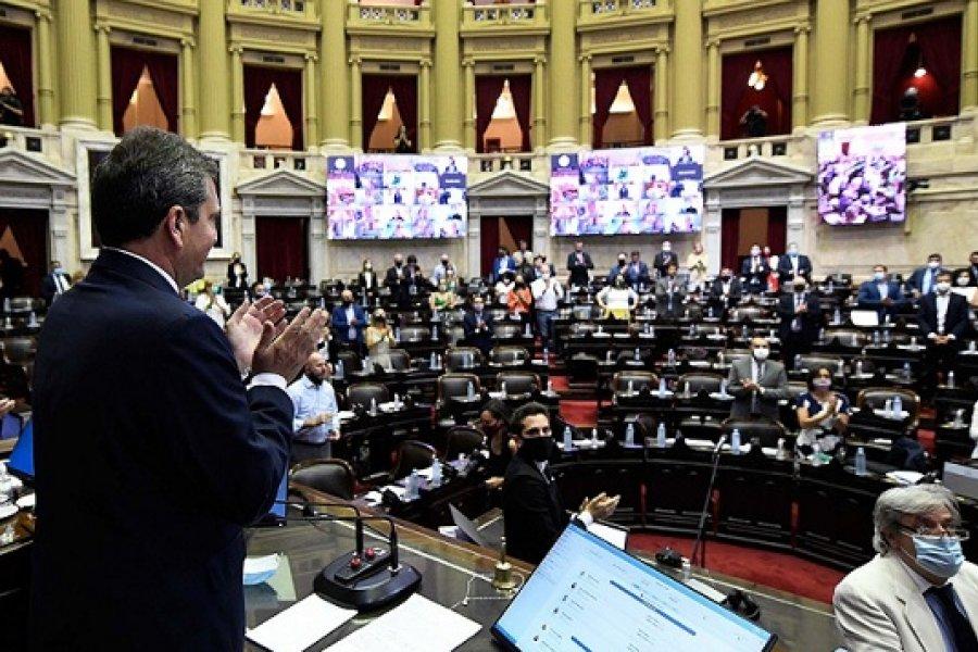La Cámara de Diputados aprobó el proyecto sobre aborto legal