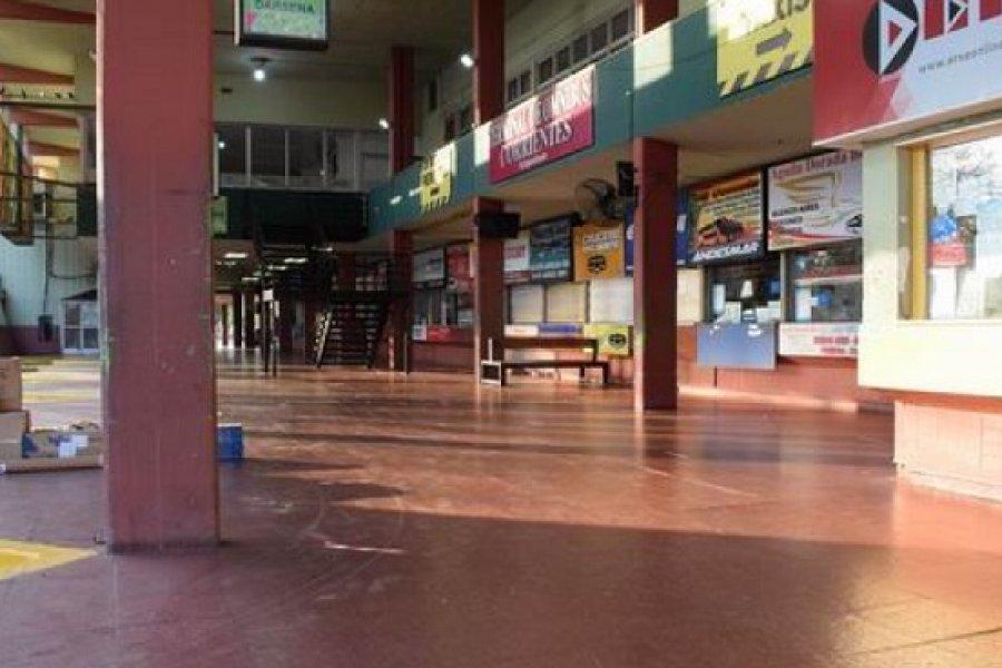La Terminal se reactivará con el servicio de transporte al Interior