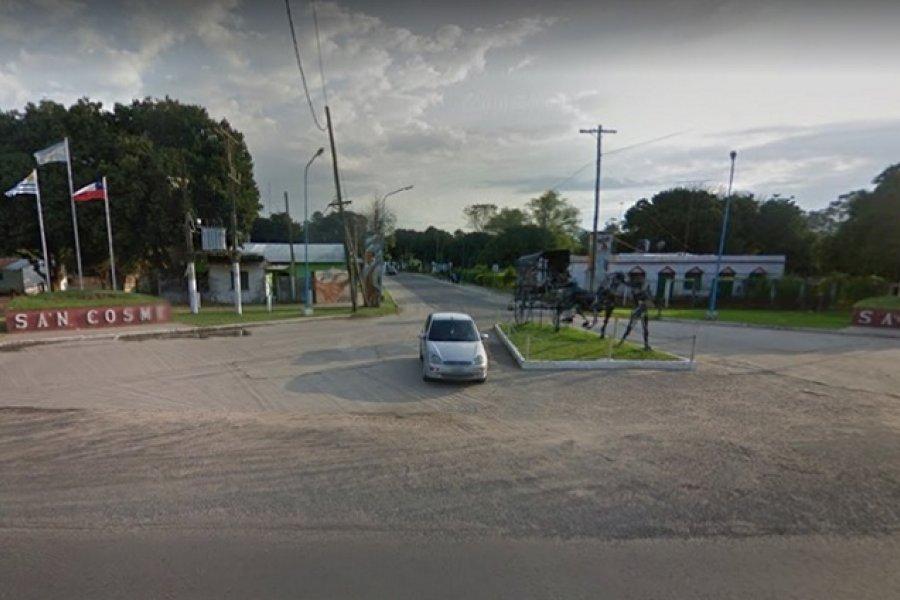 Murió un penitenciario tras chocar su automóvil contra un camión en San Cosme
