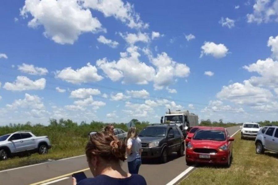 Un hombre murió tras un despiste y vuelco en Ruta 12