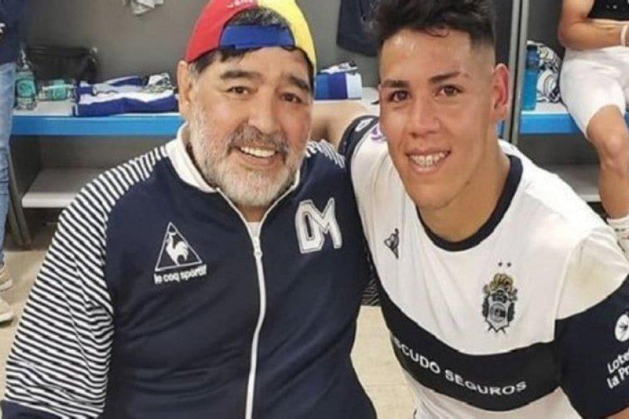 """La emoción del correntino al recordar a Maradona: """"Estaba tirado y él me sacó de abajo"""""""