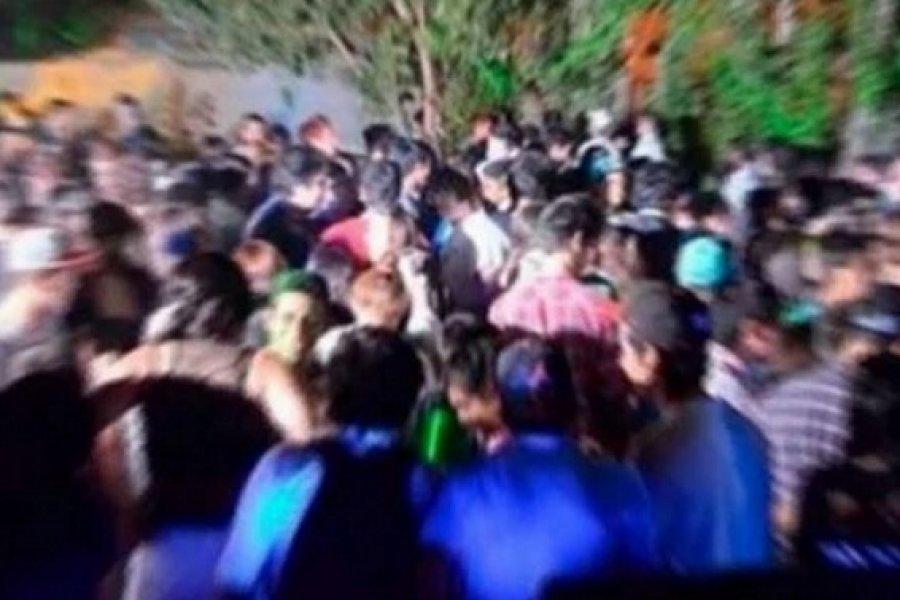 """Un intendente pidió """"blanquear"""" las fiestas clandestinas"""