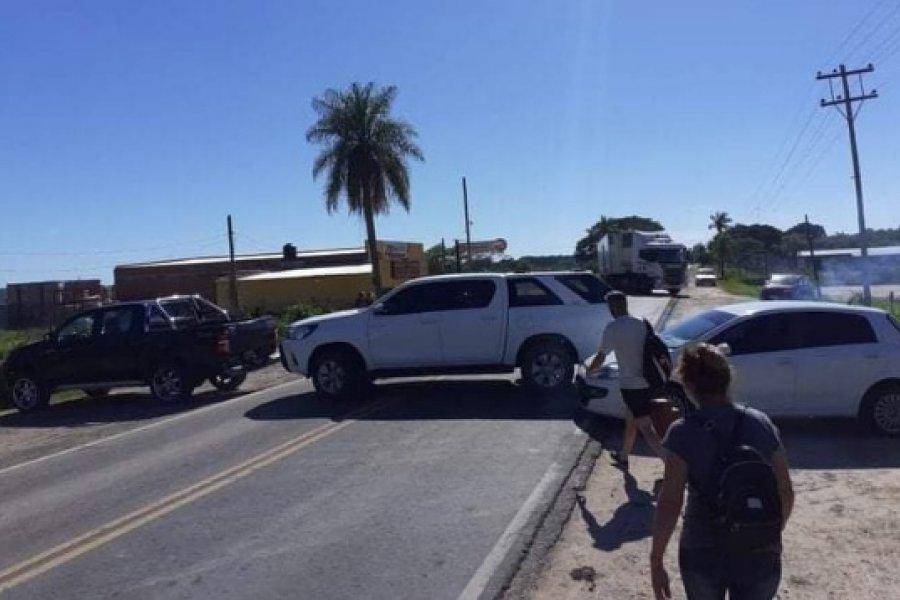 Piquete entre Santa Ana y Corrientes por falta de energía