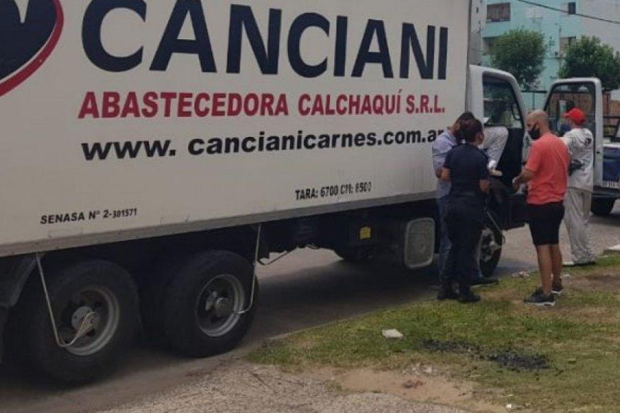 Robaron un millón quinientos mil pesos de un camión distribuidor