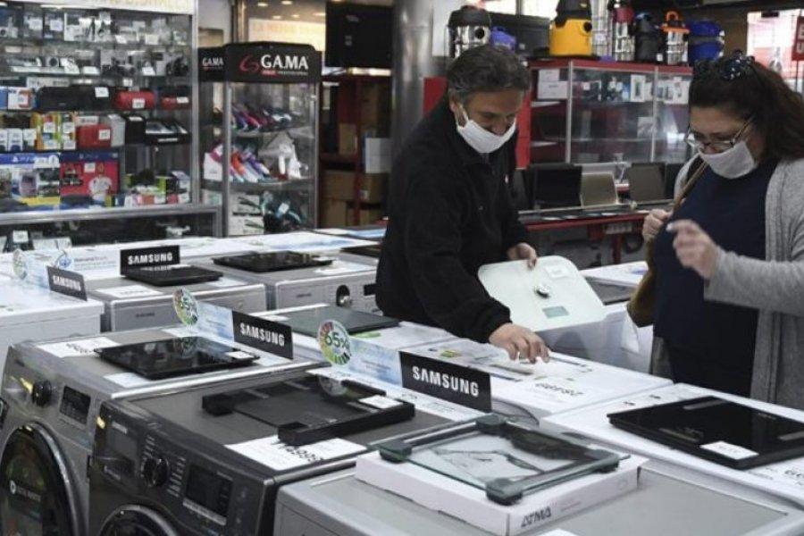 Extendieron los créditos para comprar electrodomésticos