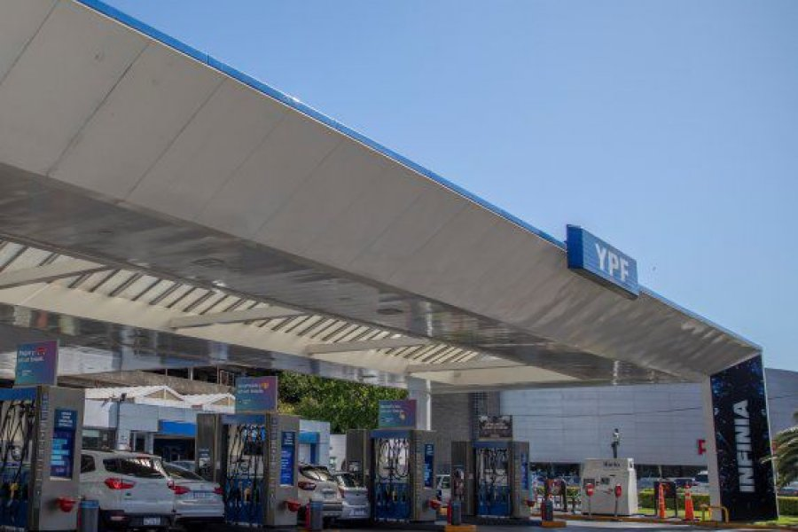 YPF sube 4,5% en promedio las naftas y gasoil