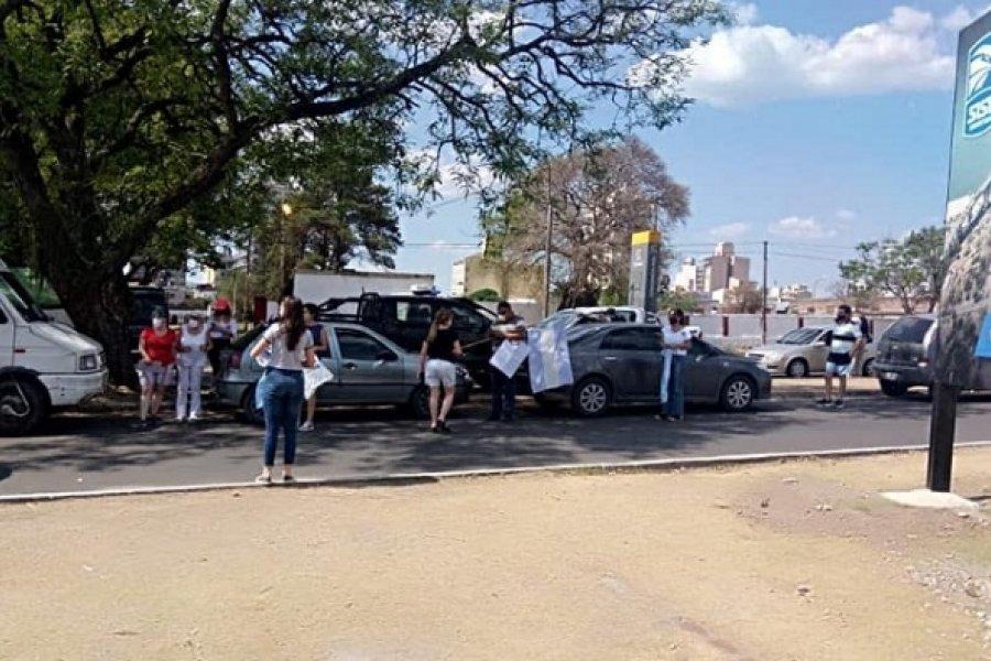 Nueva marcha por permisos de circulación sobre el puente General Belgrano