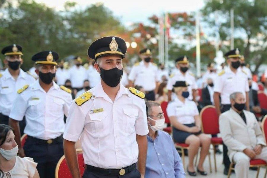 Se realizó el Acto de Egreso de la VIIIº Promoción de Oficiales de Policía