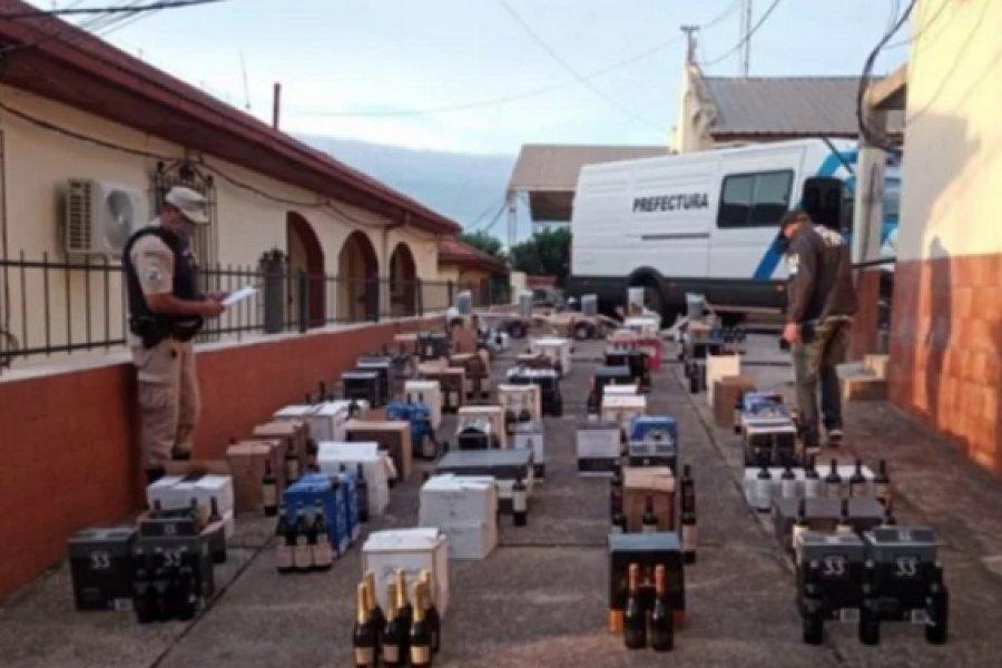 Secuestran un cargamento de mercadería ilegal valuado en más de un millón de pesos