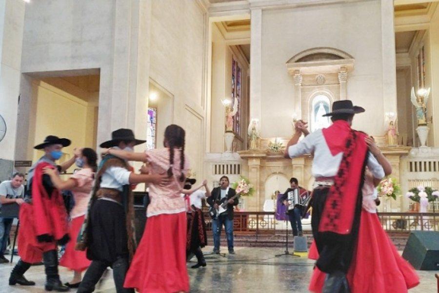 Chamamé de la Humanidad: Itatí se sumó a los festejos