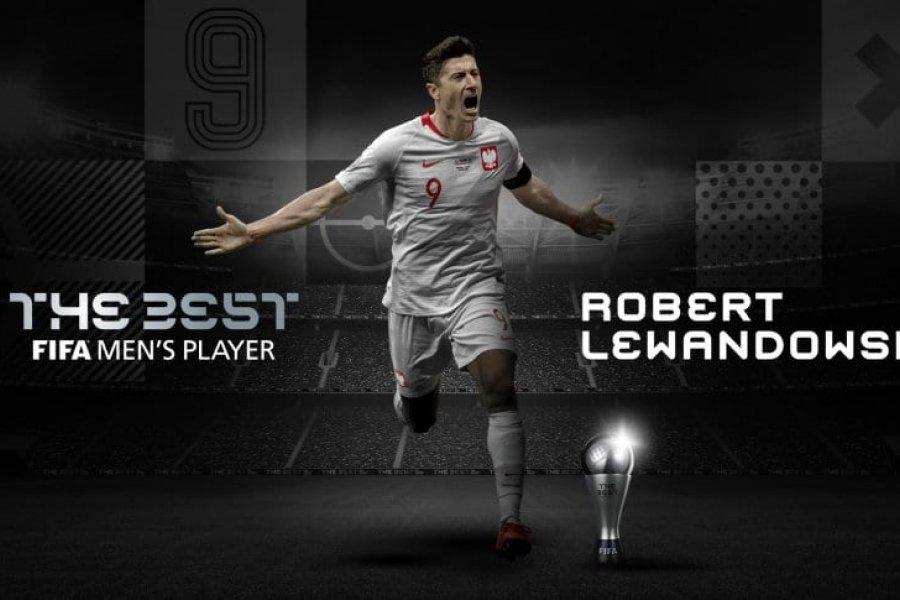 Lewandowski ganó el The Best: todos los premios del 2020