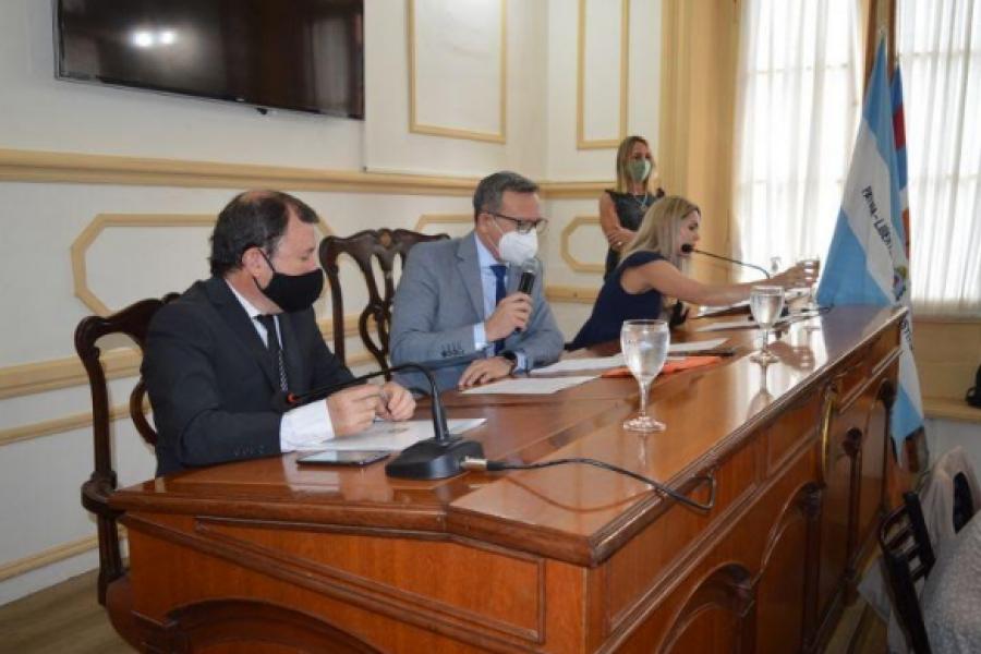 Sesiona el Concejo: aprobación de tarifaria y presupuesto 2021