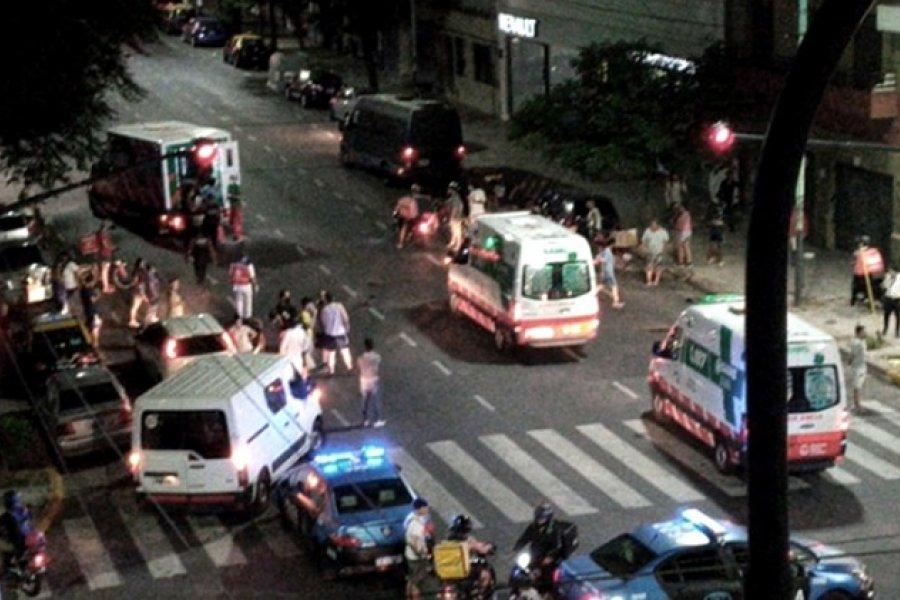 Un nene de 5 años murió al ser atropellado junto a su madre y el conductor se fugó