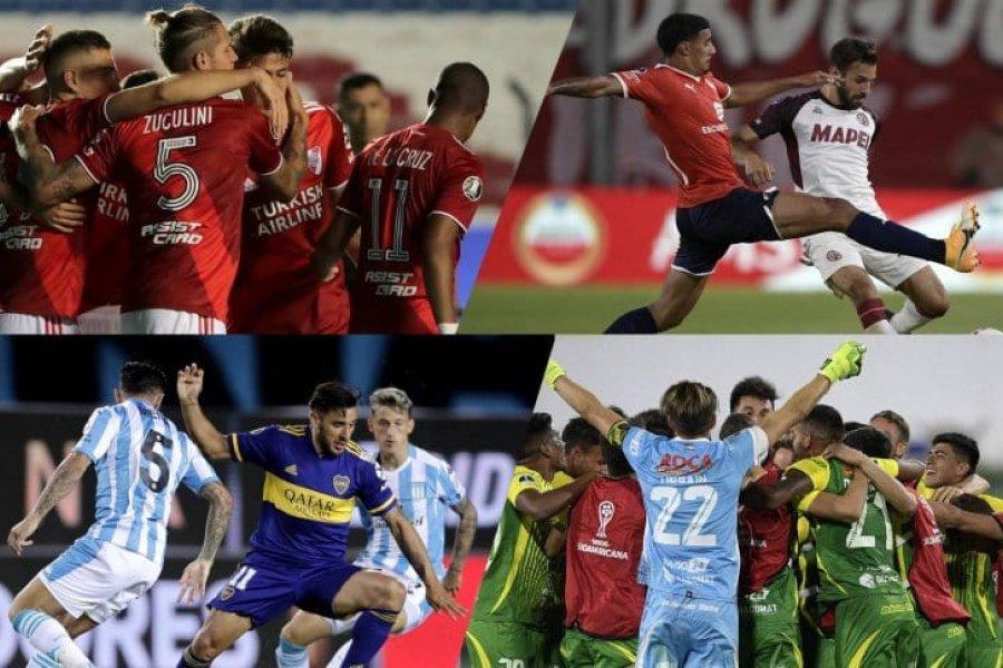 El éxito del fútbol argentino pese a la pandemia