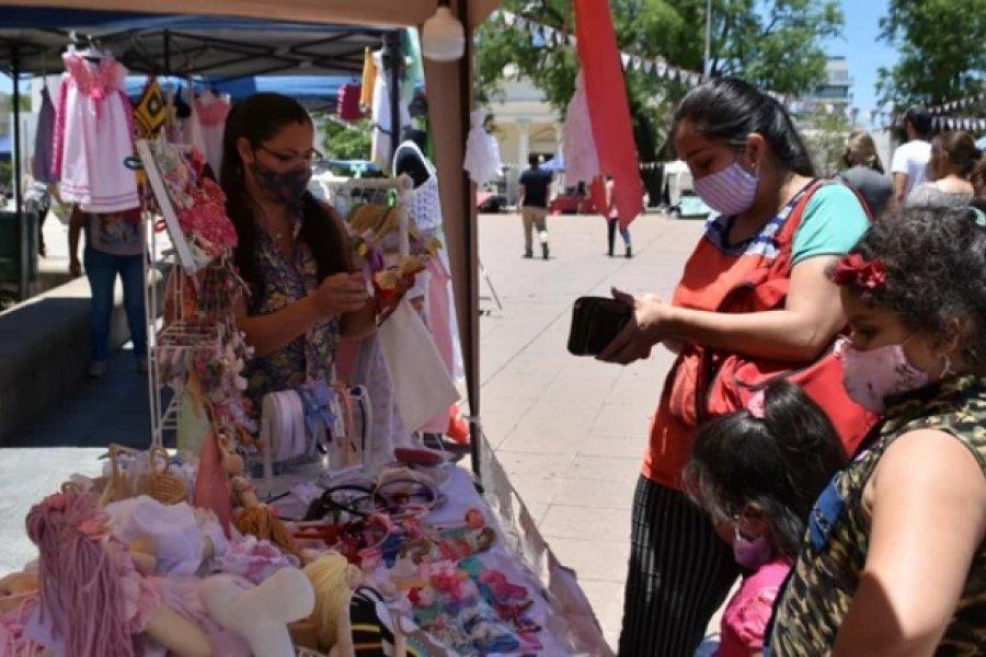 Los artesanos estarán en la plaza Cabral