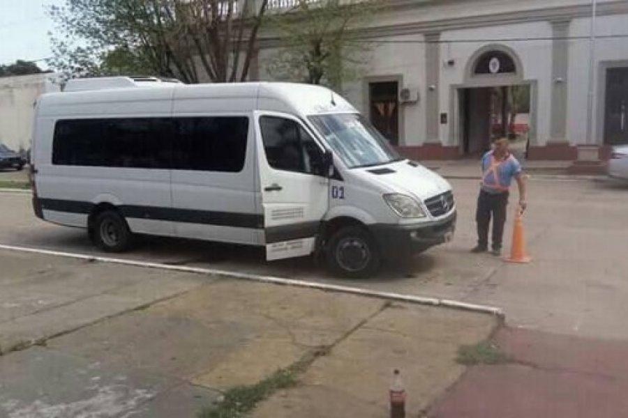 Empedrado habilitó el servicio transporte a Capital