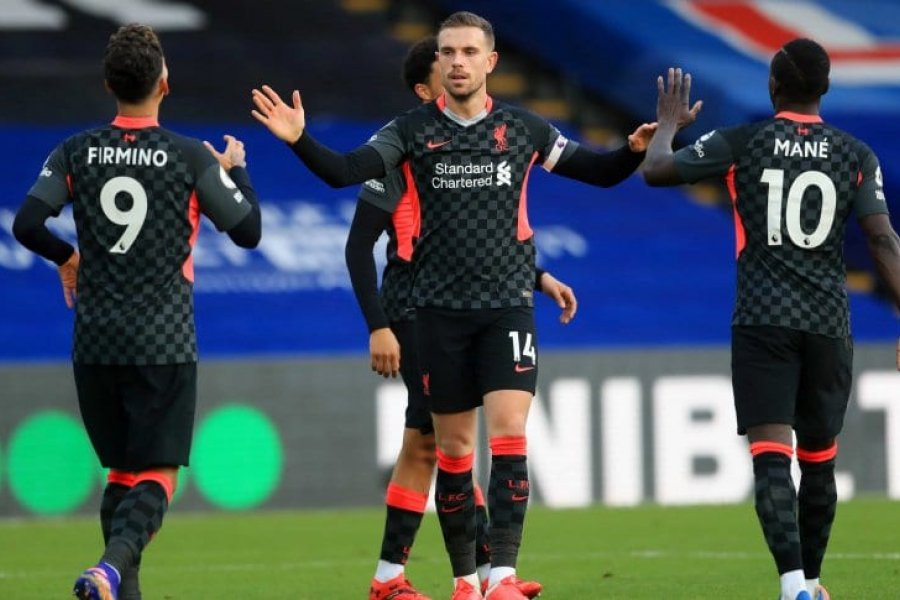 Tremenda goleada de Liverpool en su visita a Crystal Palace