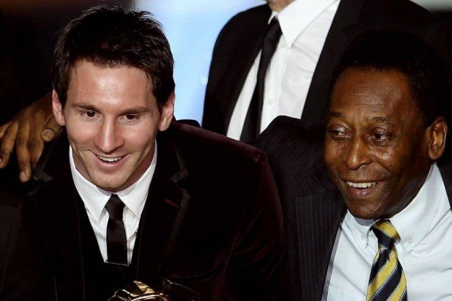 """Pelé felicitó a Messi: """"Enhorabuena por tu récord y por tu bonita trayectoria en Barcelona"""""""