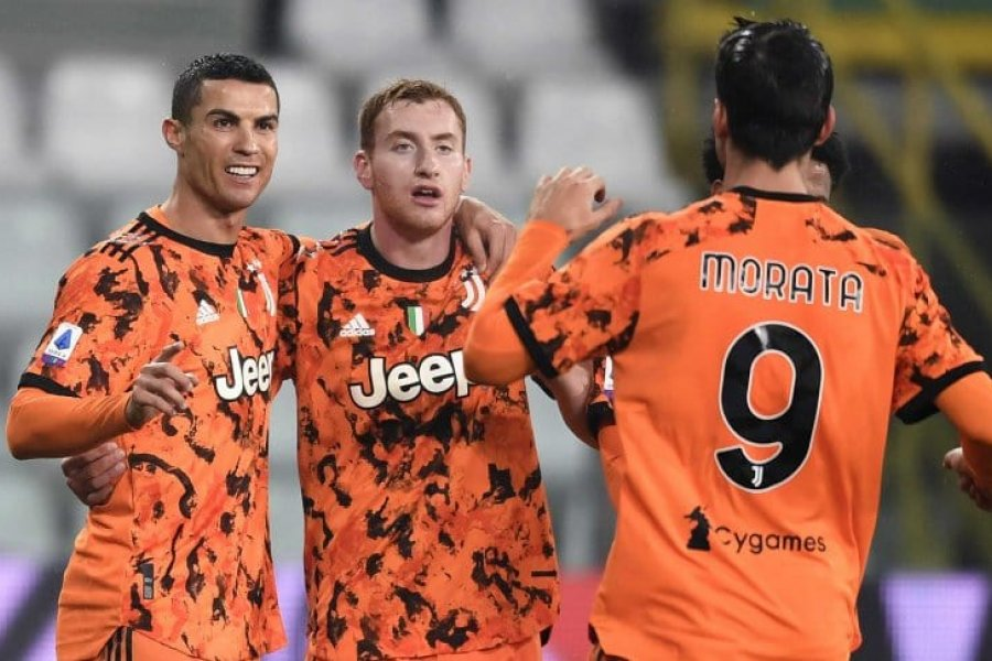 Cristiano Ronaldo anotó doblete en la victoria de la Juventus