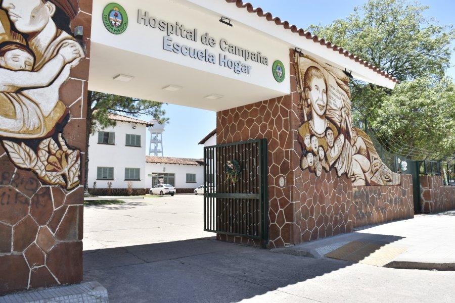 Murió un hombre de 77 años en el Hospital de Campaña