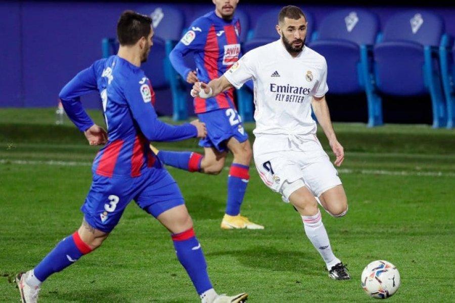 Real Madrid se subió a la punta de La Liga