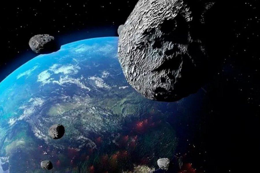 Tres asteroides de más de 20 metros de diámetro se acercan a la Tierra esta semana