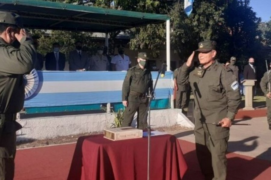 Asumió el nuevo jefe de Gendarmería Nacional en Corrientes