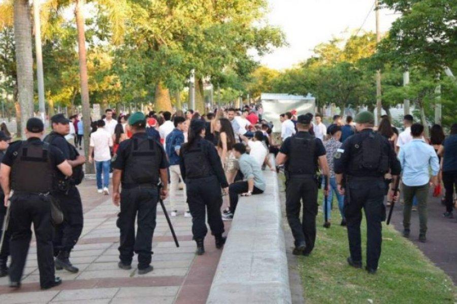 Más de 500 efectivos custodiarán la Capital durante la Nochebuena y Año Nuevo