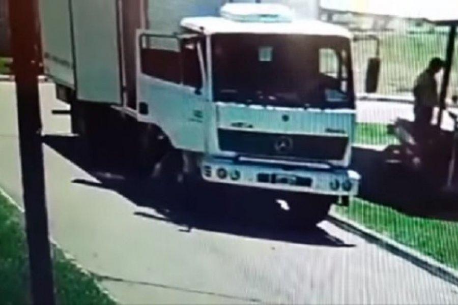 Motochorros robaron la recaudación de un camión en Monte Caseros