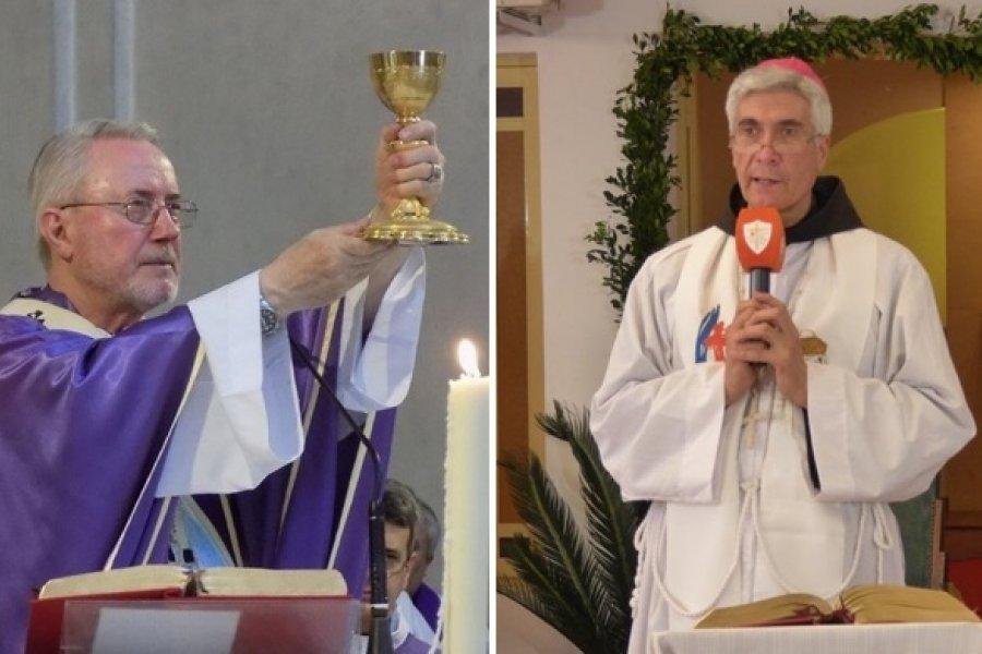 La misa de Nochebuena llega al Hospital de Campaña y a la Catedral