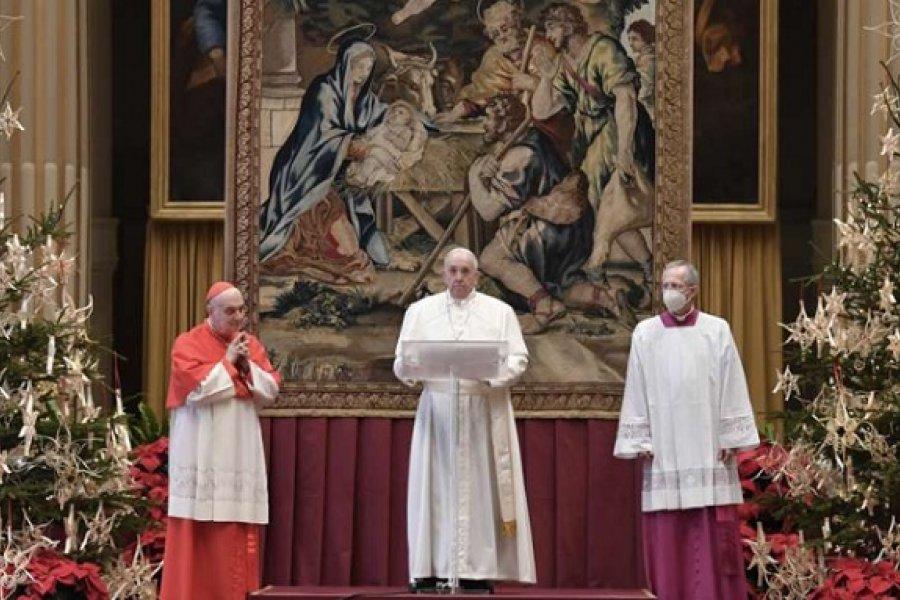 El Papa Francisco pidió que la vacuna contra el coronavirus sea accesible a todos