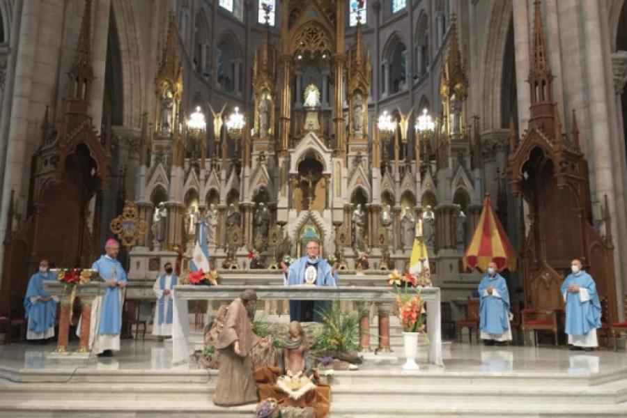 Debate por el aborto: El Episcopado celebró una misa para pedir respeto de la vida por nacer