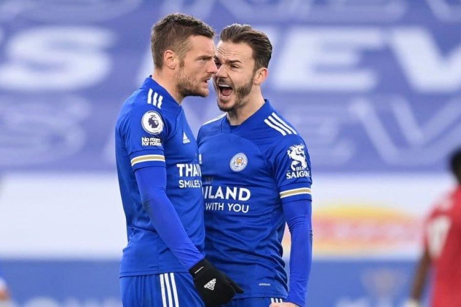 Leicester y Manchester United igualaron en King Power por la Premier League