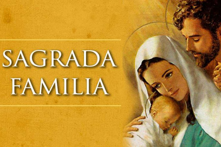La Iglesia Católica celebra hoy a la Sagrada familia