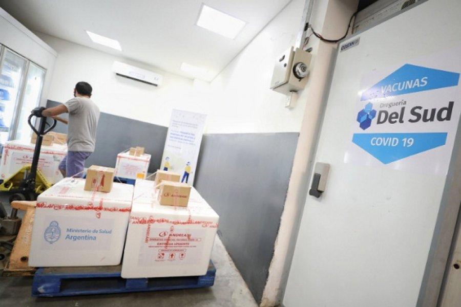 Son 3.150 las dosis anticovid-19 llegadas a Corrientes
