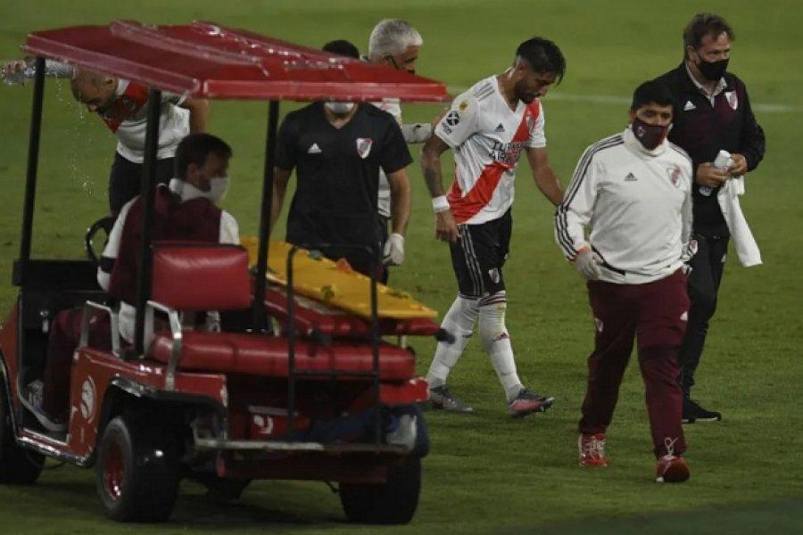 Sufre River: Dos sensibles bajas para el Superclásico y la ida de la Copa Libertadores