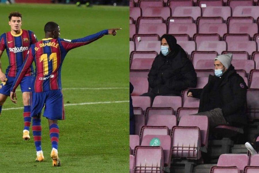 Sin Messi, Barcelona empató con Eibar