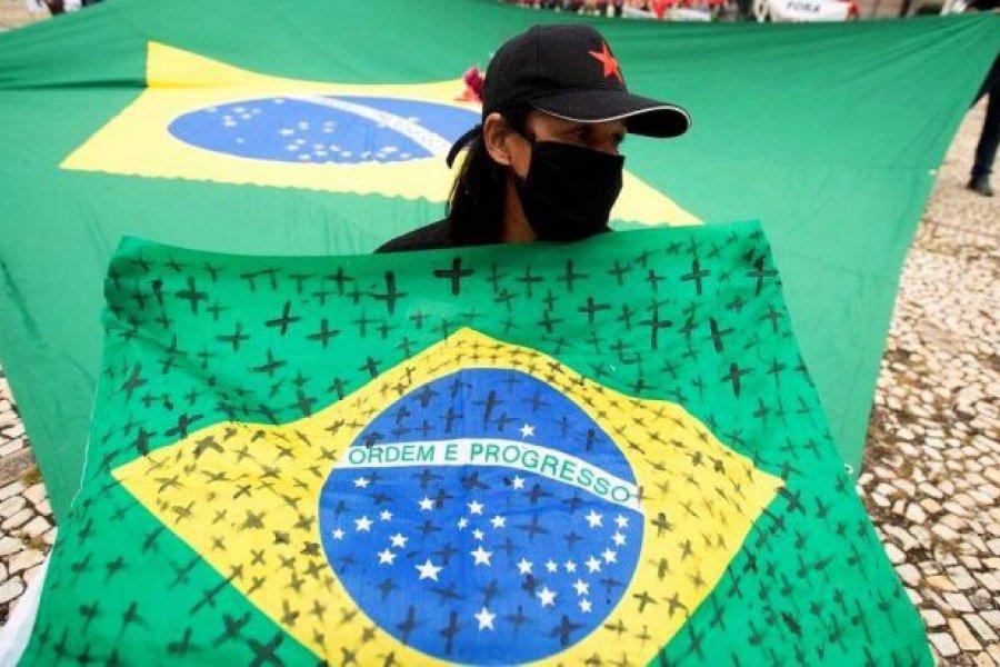 Alarma en Brasil: las muertes por Covid-19 crecieron 40% en diciembre
