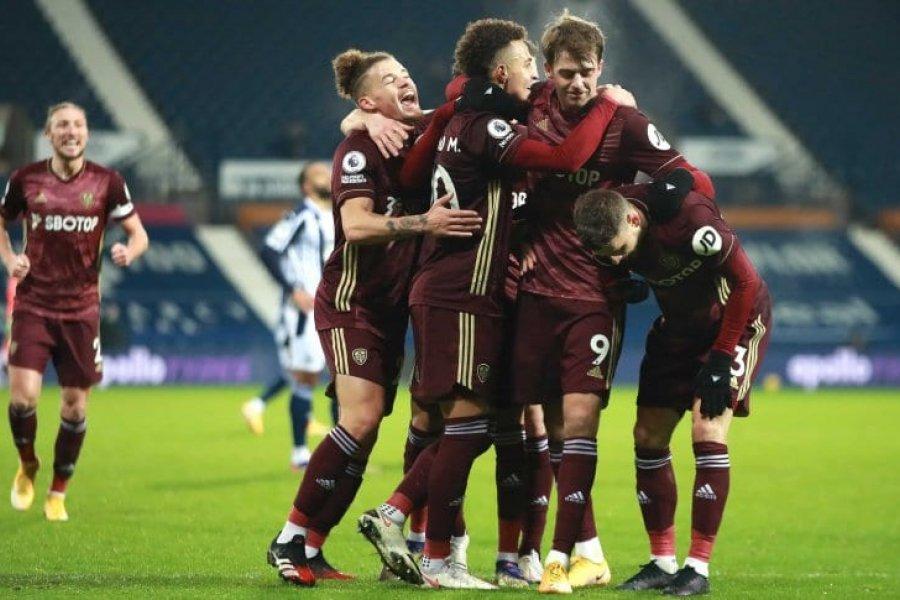 El Leeds de Bielsa aplastó al West Bromwich y volvió a sonreír