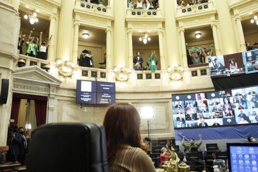 Es ley el aborto voluntario en Argentina