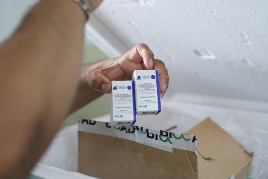 Corrientes: Comenzaron a llegar las dosis de la vacuna Sputnik V a hospitales del Interior