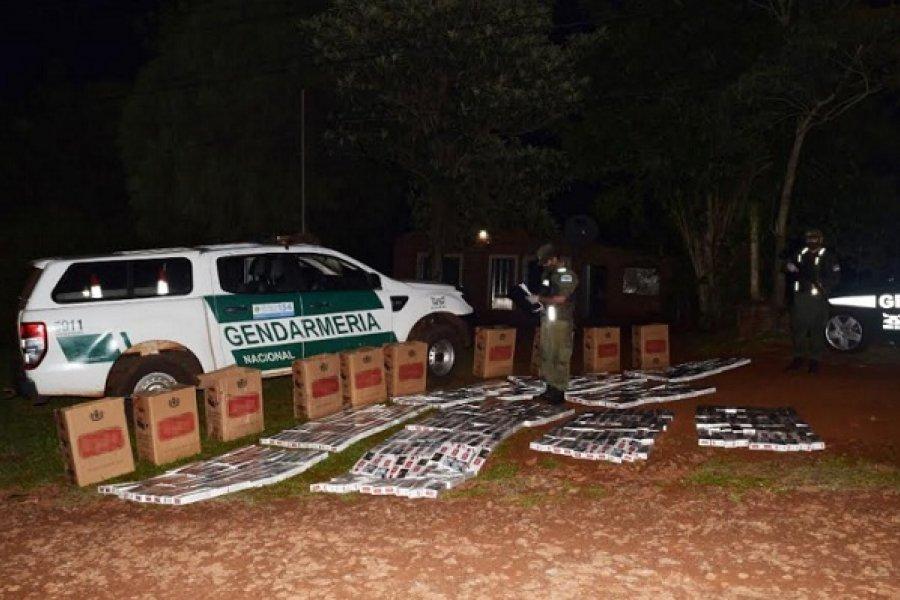Misiones: Allanan una vivienda y secuestran 5.000 atados de cigarrillos